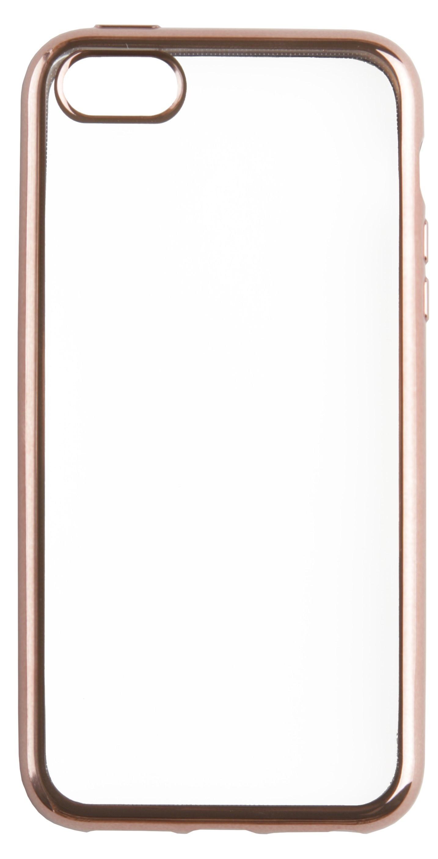 Чехол для сотового телефона skinBOX Silicone chrome border, 4660041409147, розовый skinbox 4people slim silicone чехол накладка для xiaomi redmi 4a transparent