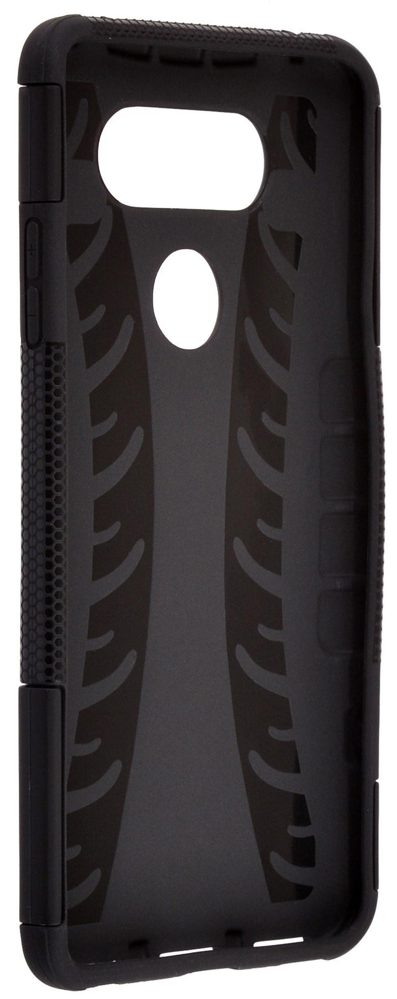 Чехол для сотового телефона skinBOX Defender, 4630042523944, черный все цены