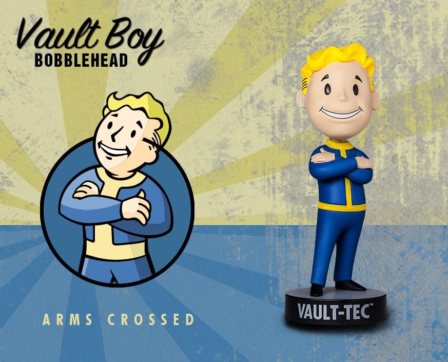 Фигурка Gaming Heads Fallout 4 Vault Boy Bobblehead Series 3 Arms Crossed, 81738 цена