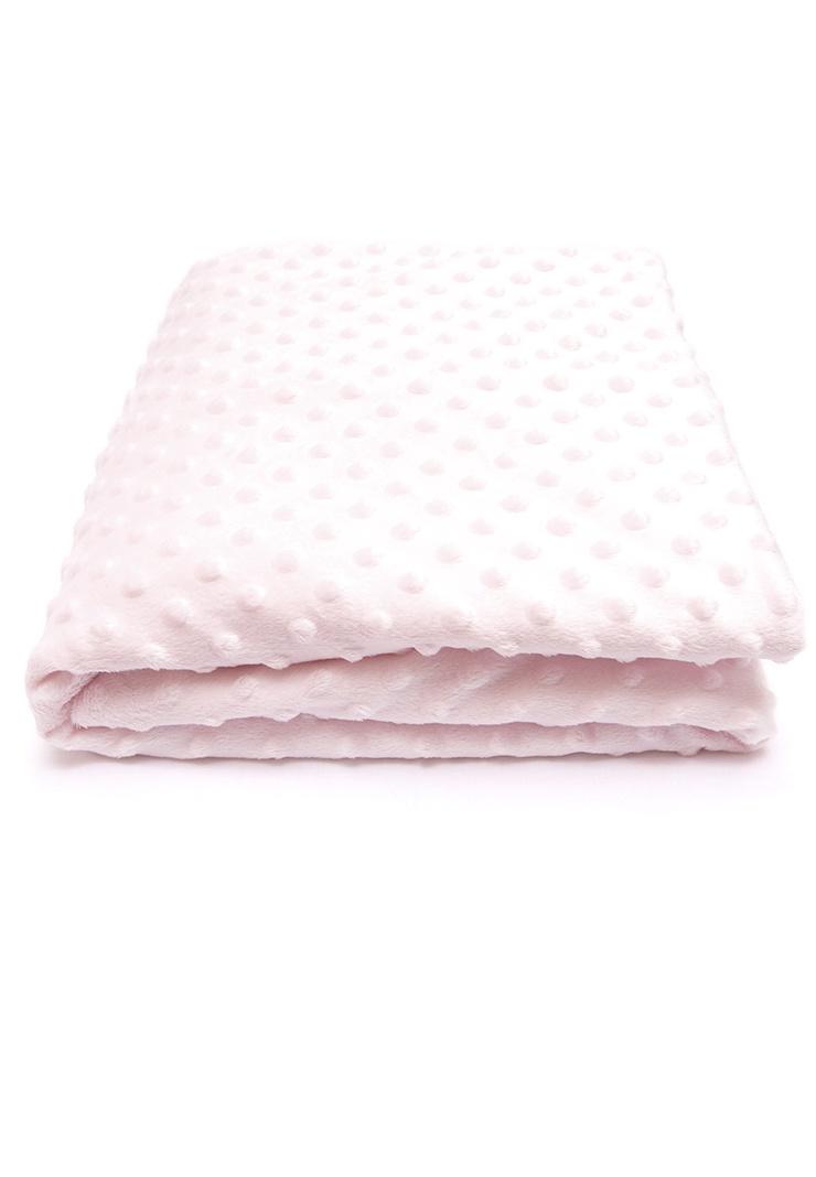 Детский плед Сонный гномик Горошек, 570_2, розовый