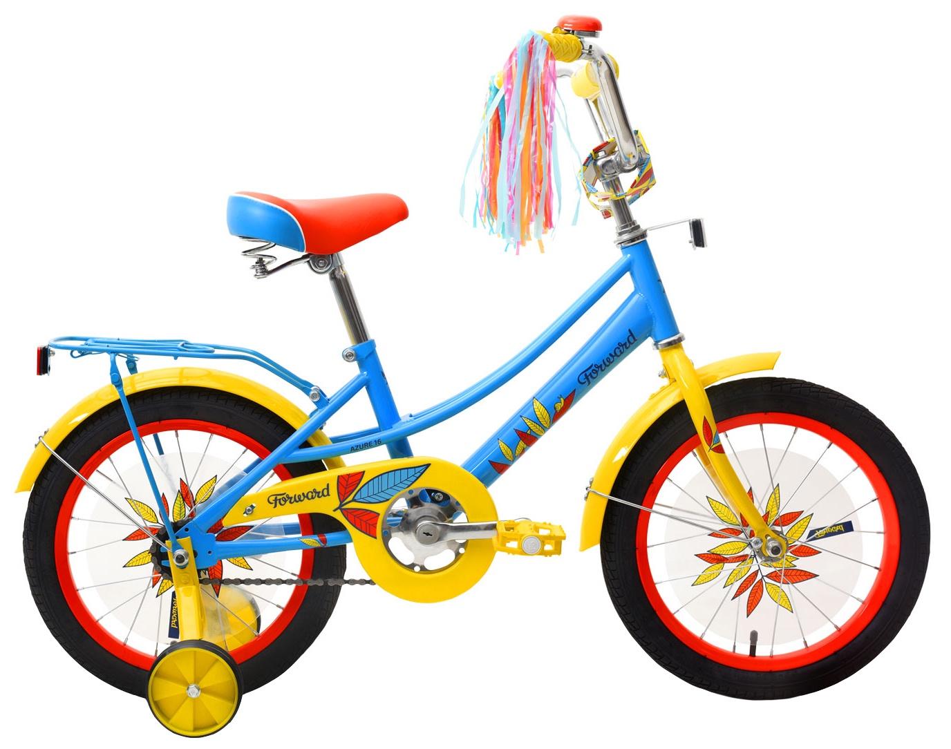 Велосипед Forward Azure 16, RBKW9LNG1010, голубой велосипед forward azure 1 0 2014