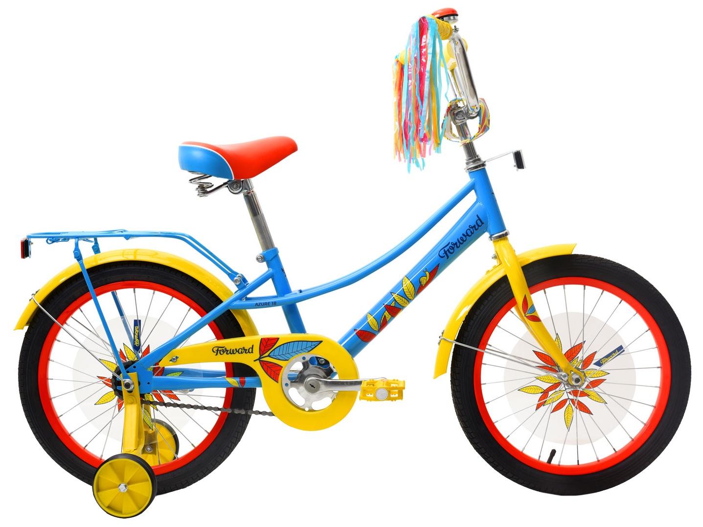 Дорожный Forward Azure 18, RBKW9LNH1010, голубой велосипед forward azure 1 0 2014
