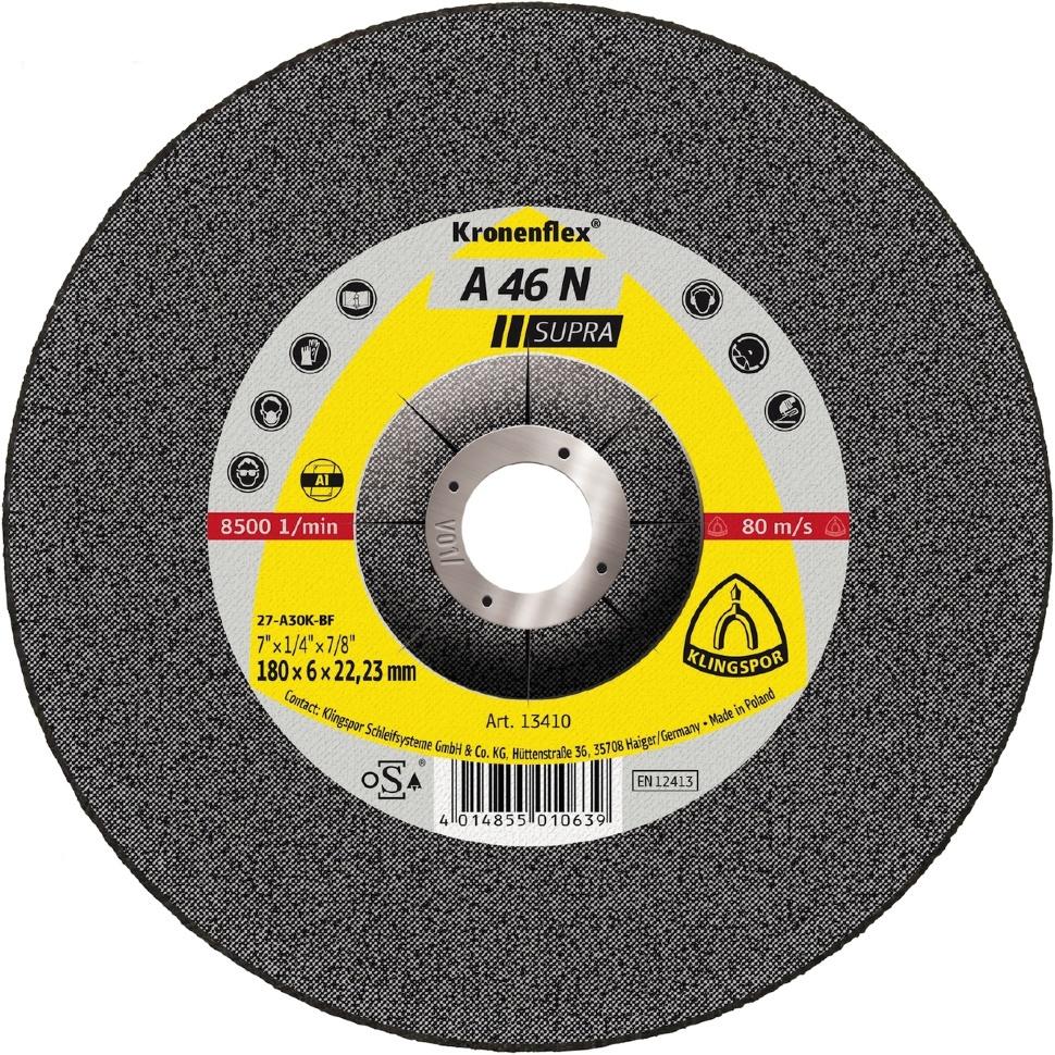 Круг обдирочный Klingspor 2226, Абразив круг отрезной klingspor 230х2х22 kronenflex a 24 extra