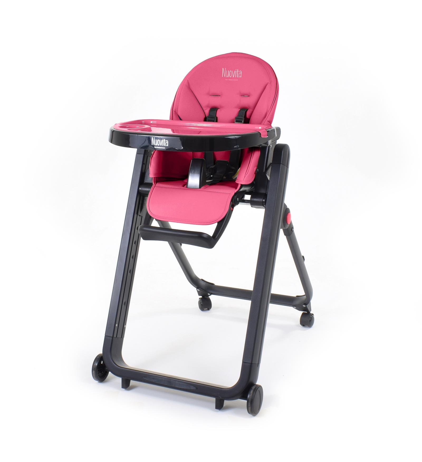 Стульчик для кормления Nuovita Стульчик для кормления Futuro Senso Nero стульчик для кормления nuovita futuro nero giallo