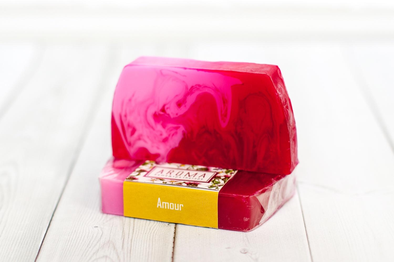 Мыло косметическое Aroma Home & Spa Therapy Мыло ручной работы «Amour» недорго, оригинальная цена