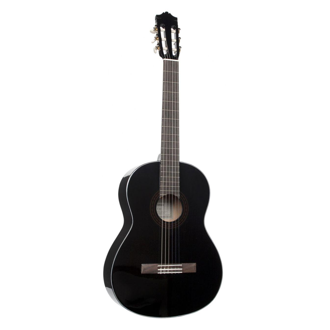 Классическая гитара Yamaha C40BL, C40BL, черный yamaha yrs313iii in c