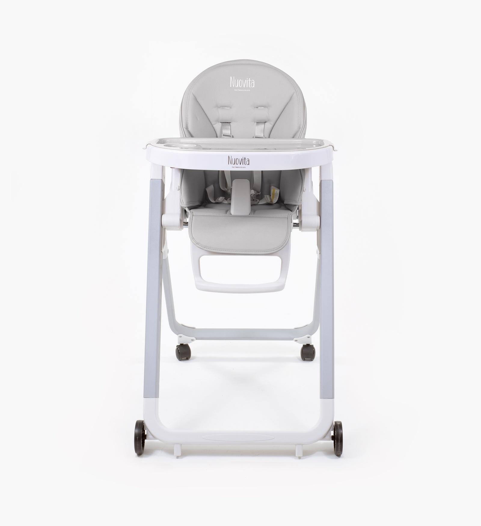 Стульчик для кормления Nuovita Стульчик для кормления Futuro Senso Bianco стульчик для кормления nuovita futuro bianco blu голубой