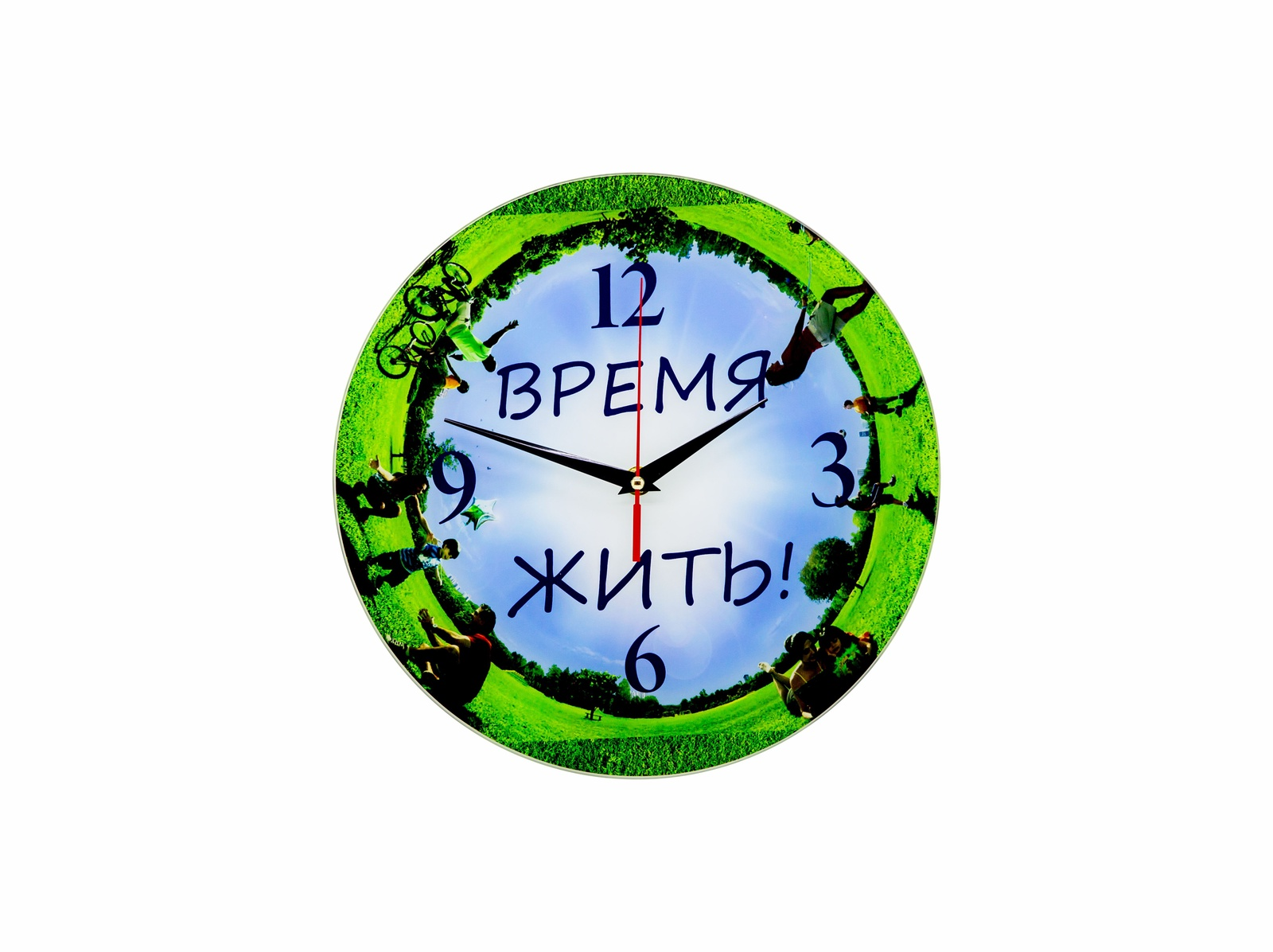 Настенные часы Simple из стекла