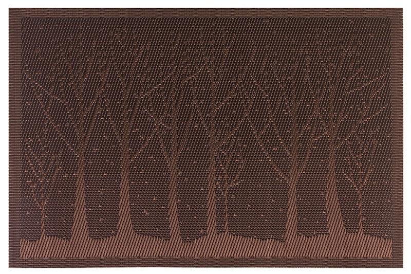 Салфетка столовая EL Casa Аметистовый лес, 171825, коричневый171825Набор из 4 салфеток для стола размером 45х30 см различных цветов и рисунков выполнен из качественного материала, который не пропускает крошки и бережет покрытие стола от горячих предметов. Салфетки эстетично смотрятся на столе и прослужат долго. С них легко смывать любые загрязнения.