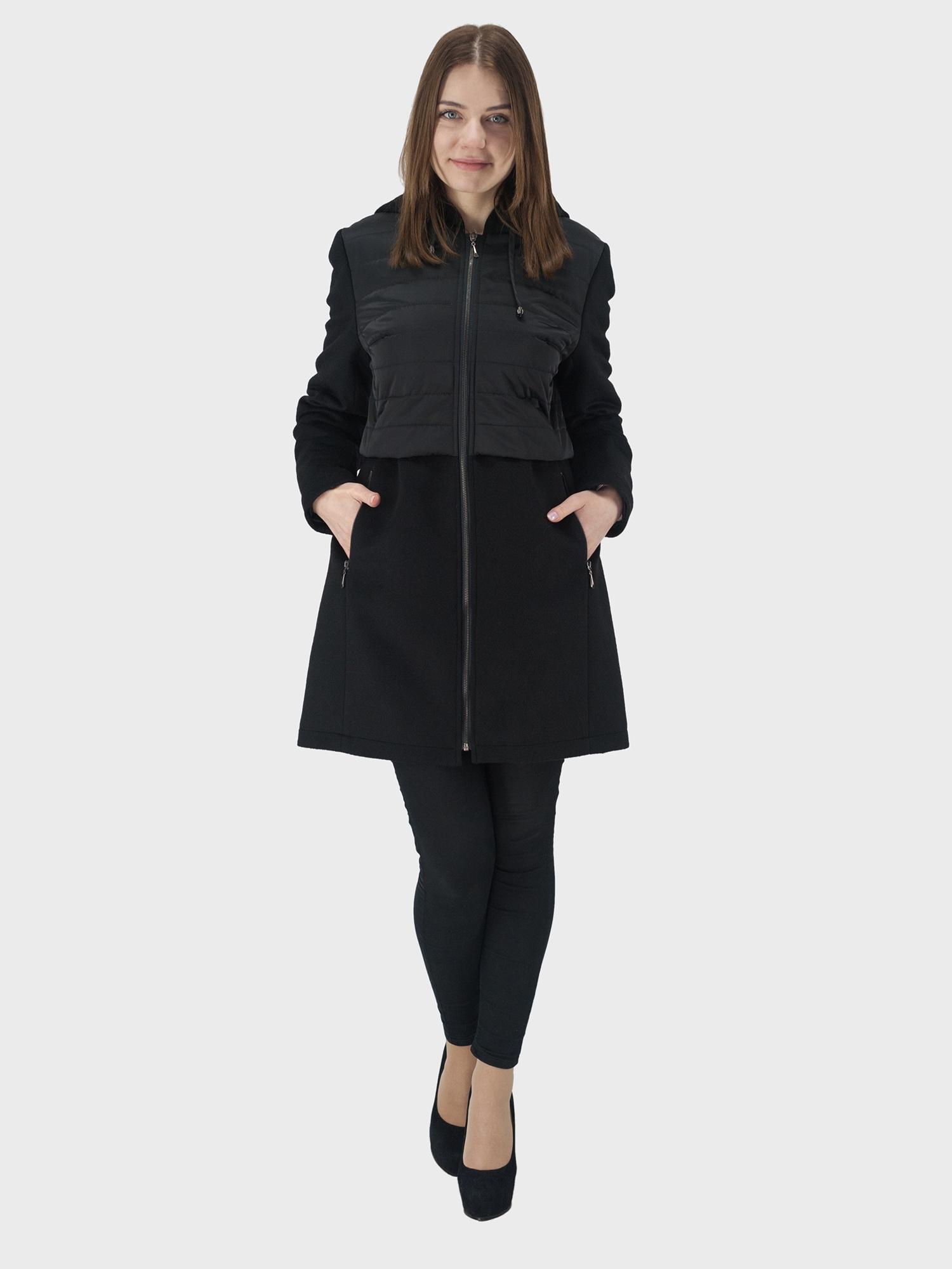 Пальто KIS длинное пальто из шерстяного драпа