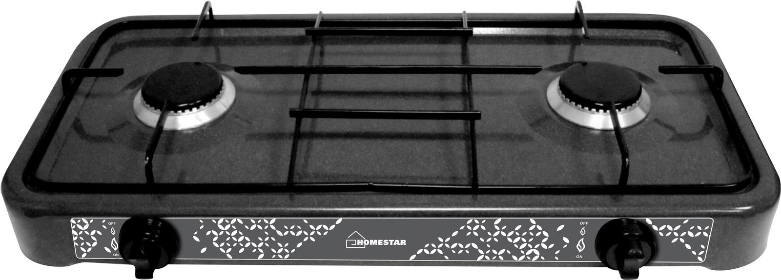 лучшая цена Настольная плита HOMESTAR HS-1202, 54 003699, черный