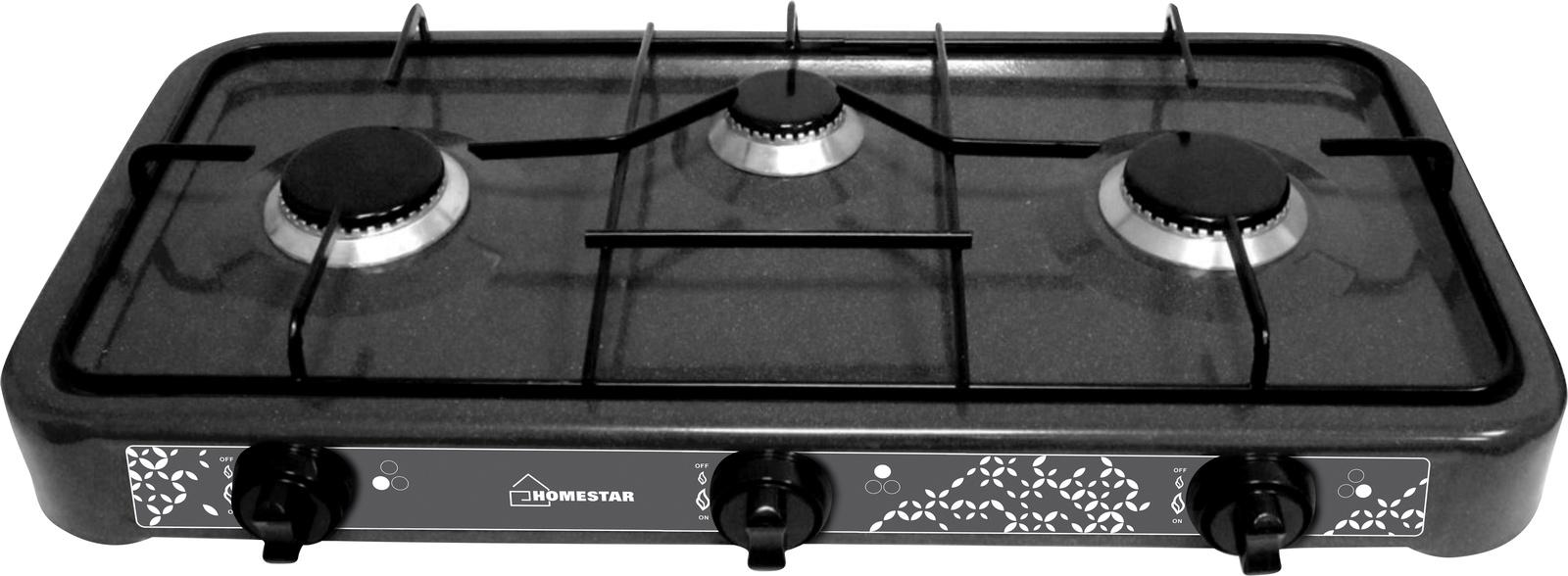 лучшая цена Настольная плита HOMESTAR HS-1203, 54 003700, черный
