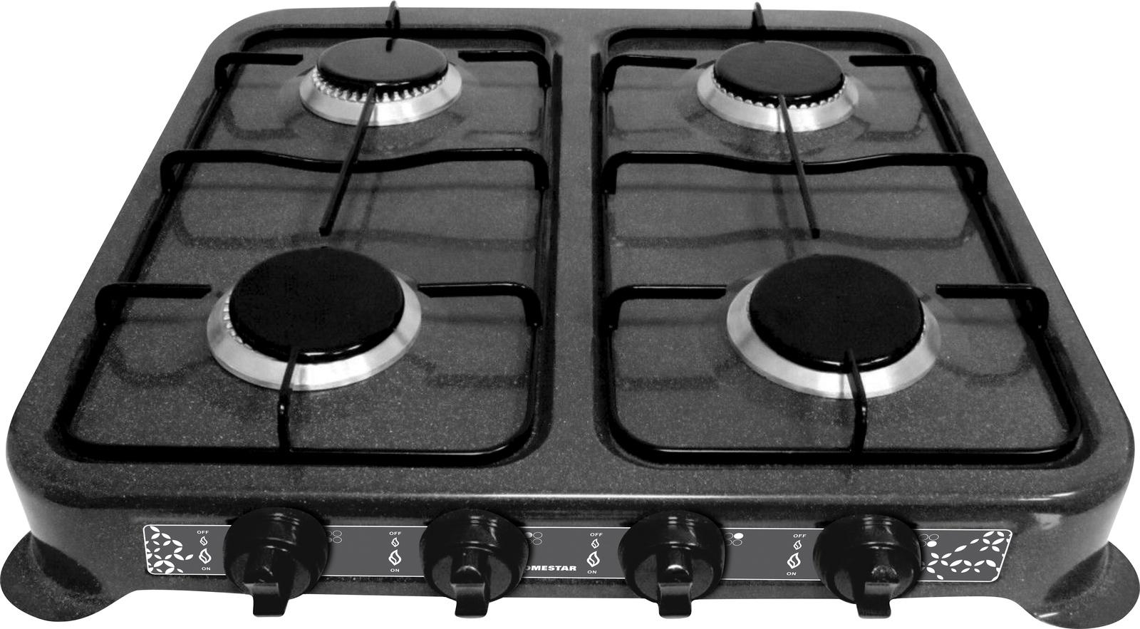 лучшая цена Настольная плита HOMESTAR HS-1204, 54 003701, черный