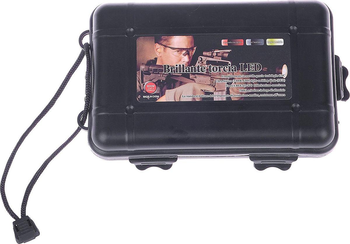 Ручной фонарь Дозор, 1 LED, 3 режима, 601048, черный