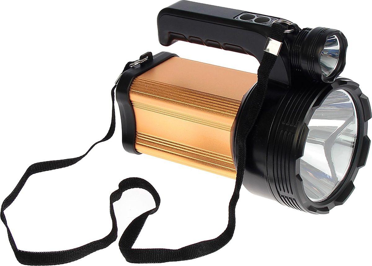 Ручной фонарь td-9000a, светодиодный, диод t6, 40W, 5 режимов, 3138722, разноцветный