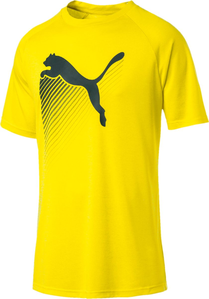 Футболка PUMA The CAT Heather Tee футболка мужская puma arsenal fc fan cat tee цвет синий 75266202 размер xxl 52 54