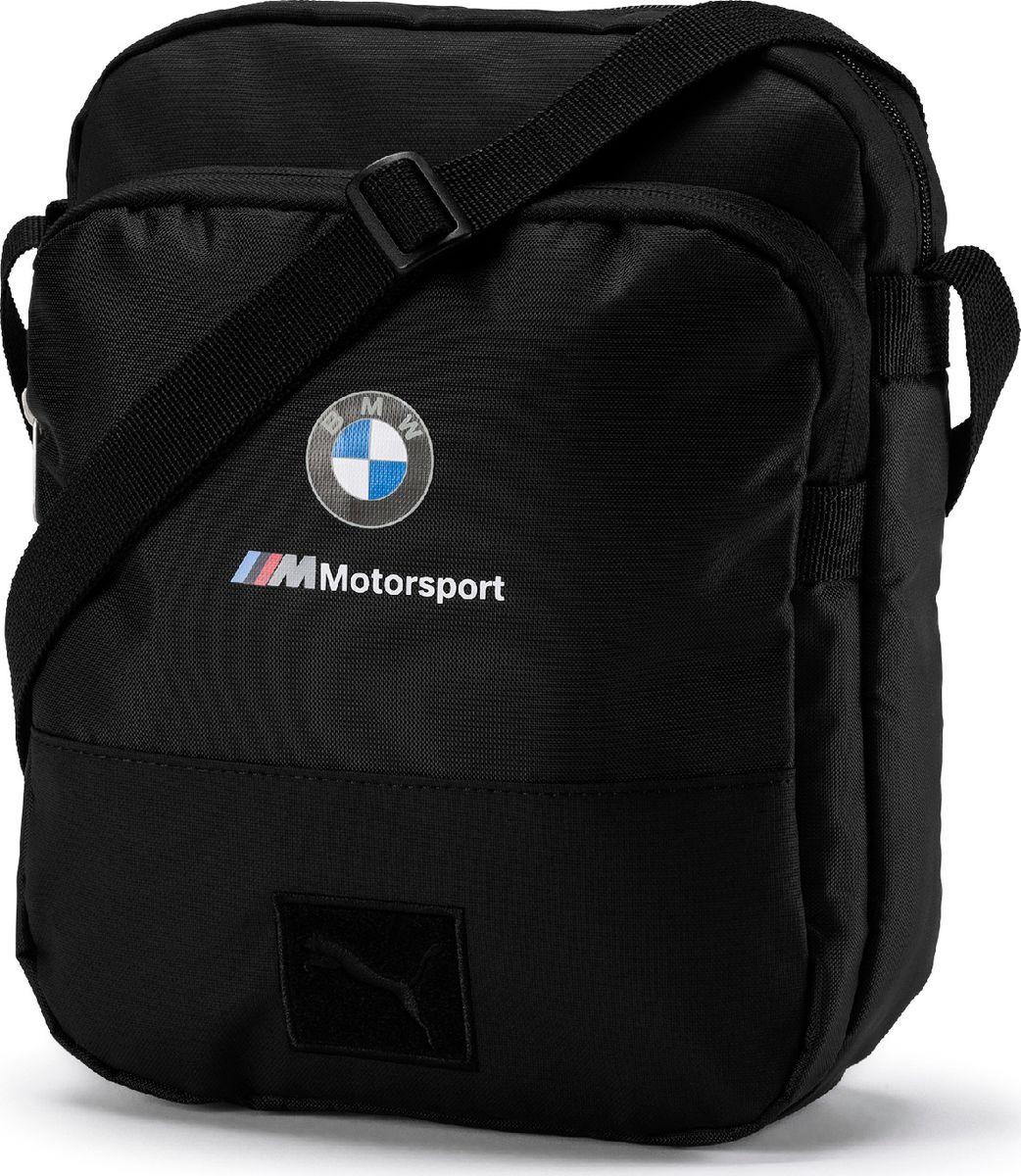 Сумка мужская Puma BMW Motorsport Large Portable, 07574701, черный