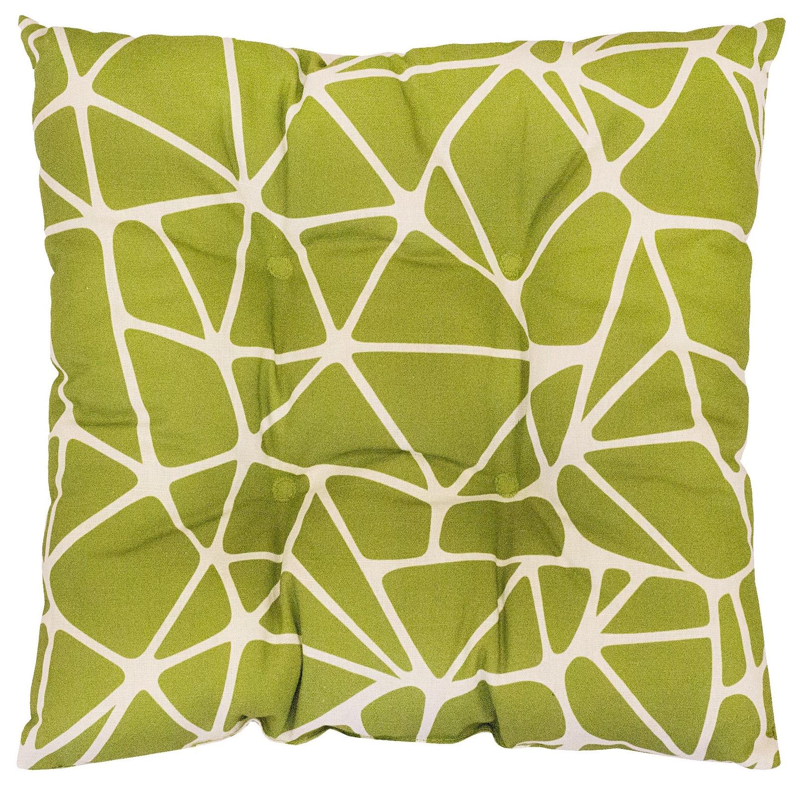 Подушка на стул Altali Триада, зеленый подушки на стул altali подушка на стул с рисунком марселла лайн