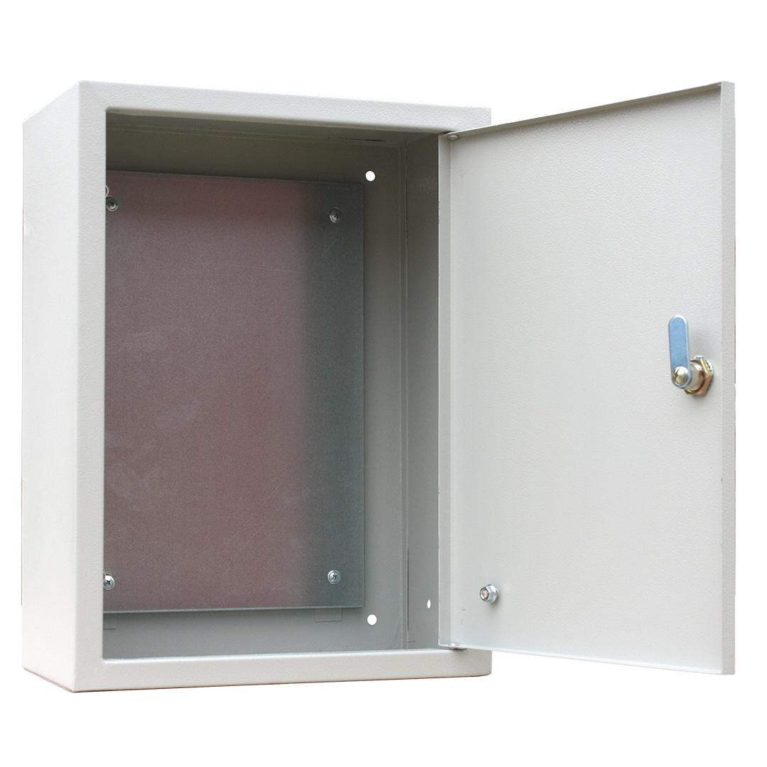 Короб установочный RUCELF Щит с монтажной панелью ЩМП-04 IP31 3,5 кг, серый щит rucelf щру 3н 25 ip31