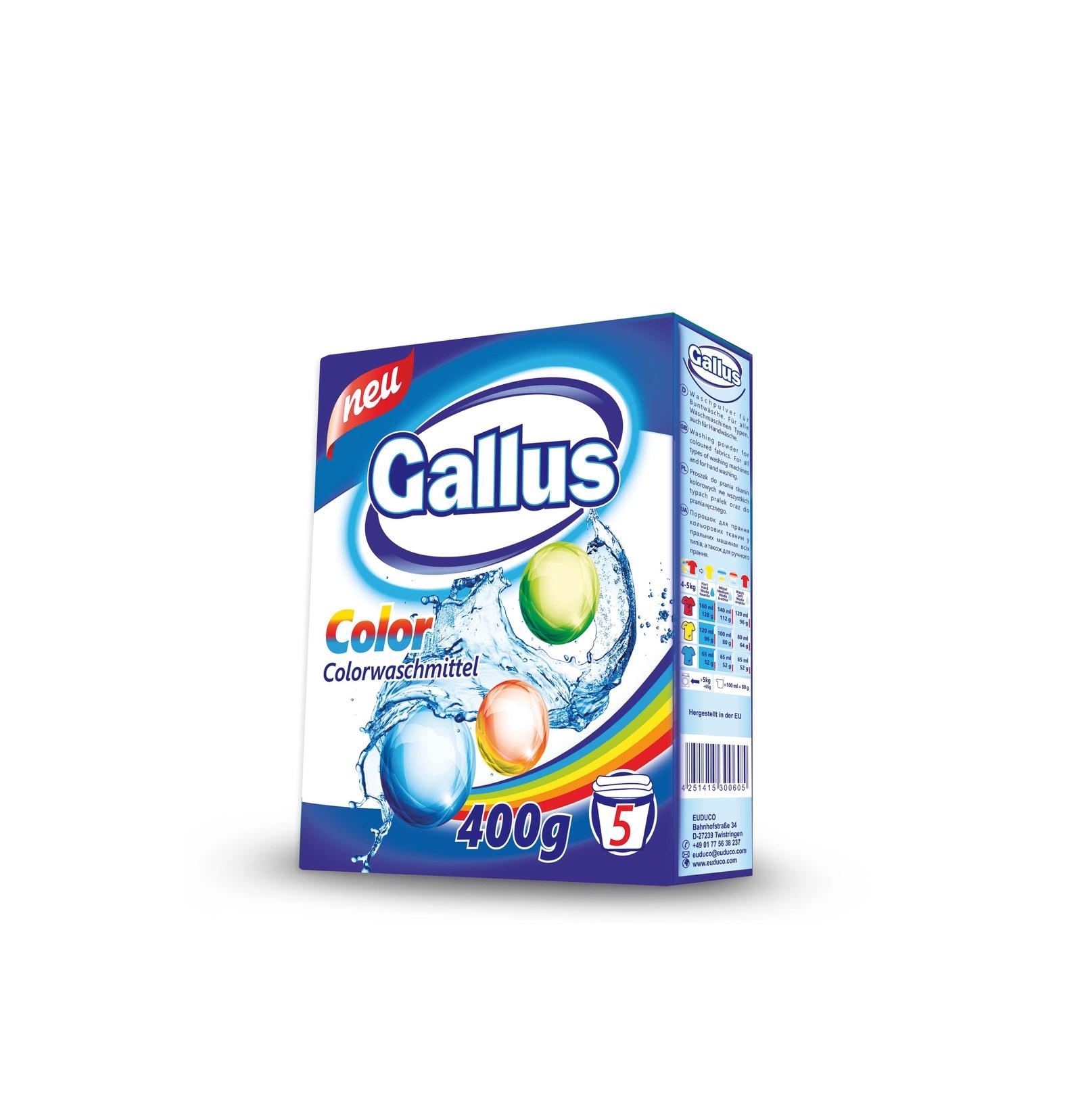 Стиральный порошок gallus для цветных вещей, 4251415300780, 0,4 стиральный порошок cadi концентрат для цветных вещей 3