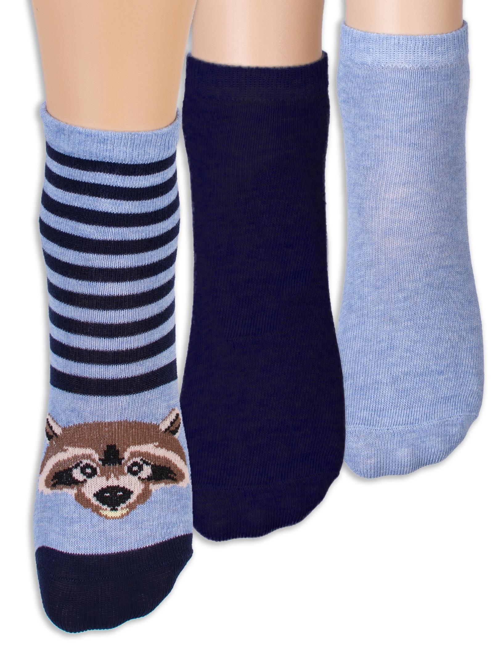 Носки Me&We, 3 шт носки детские soxo цвет синий голубой 76990 2 размер 19 21
