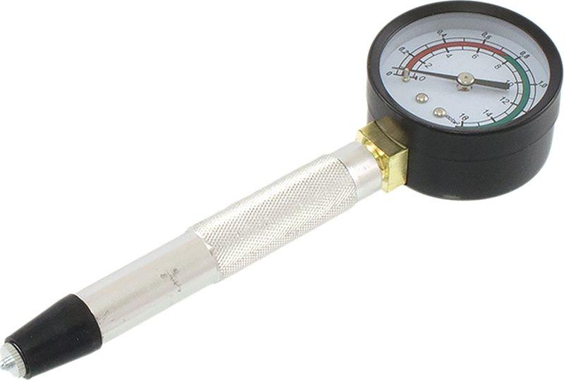 Компрессометр DolleX, прижимной, АВТОЛГ_422, черный, 16 атмосфер км 03 компрессометр прижимной удлиненный ваз газ и др
