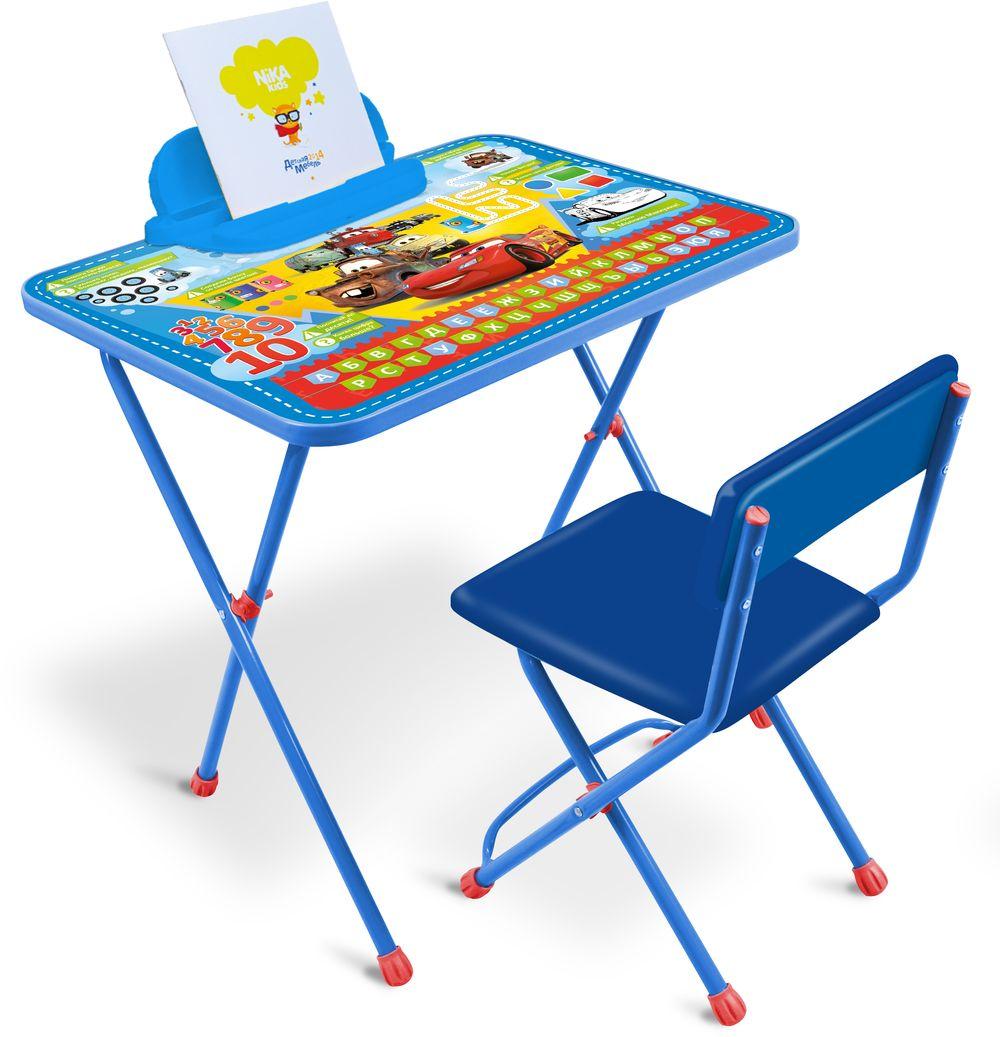 Набор детской мебели Ника Disney, Д1П/Т, синий набор детской мебели ника disney д2у синий