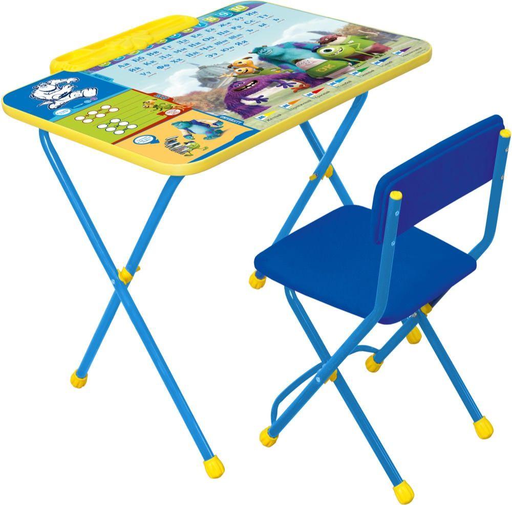 Набор детской мебели Ника Disney, Д2У, синий набор детской мебели ника disney д2у синий
