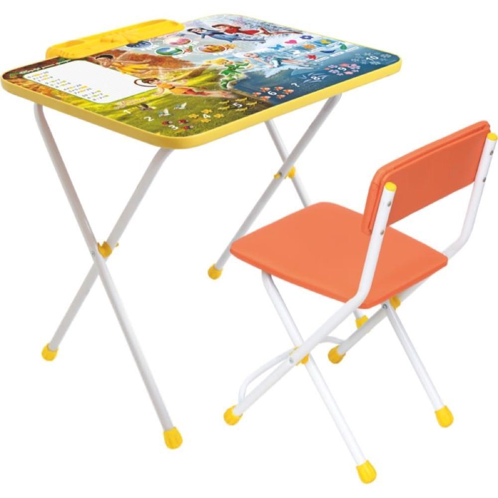 Набор детской мебели Ника Д2Ф2, оранжевый