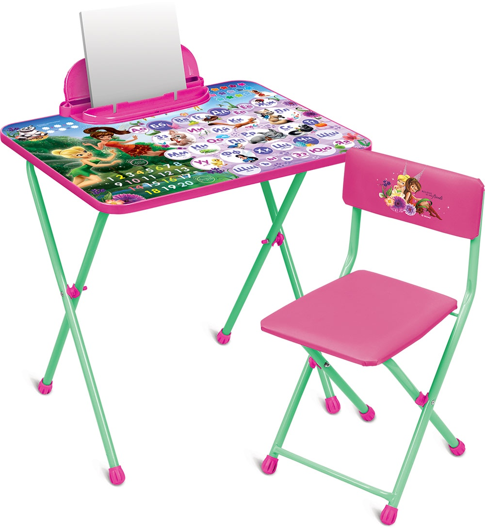 Набор детской мебели Ника Disney, Д2Ф1, розовый