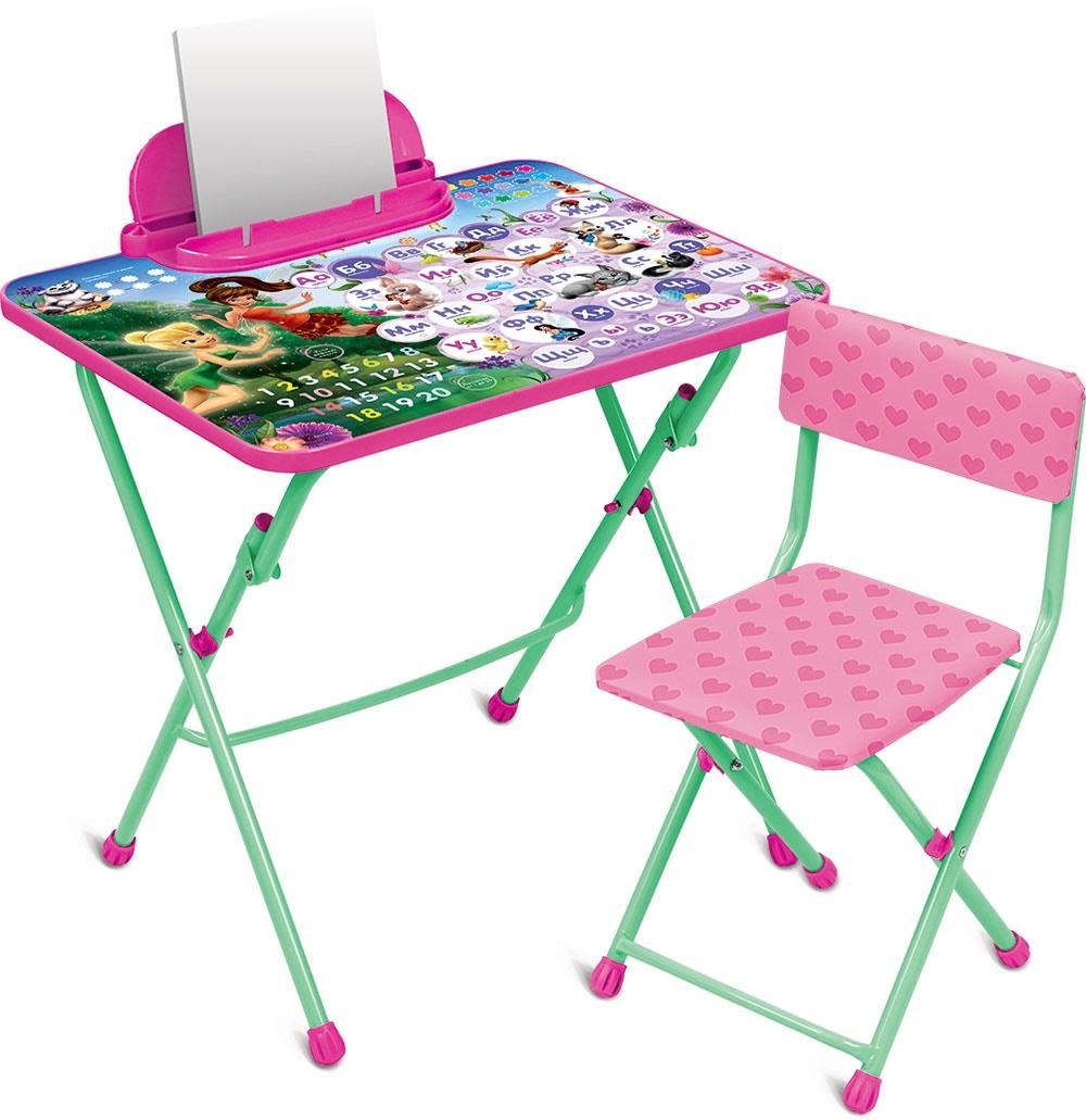 Набор детской мебели Ника Disney, Д3Ф1, розовый