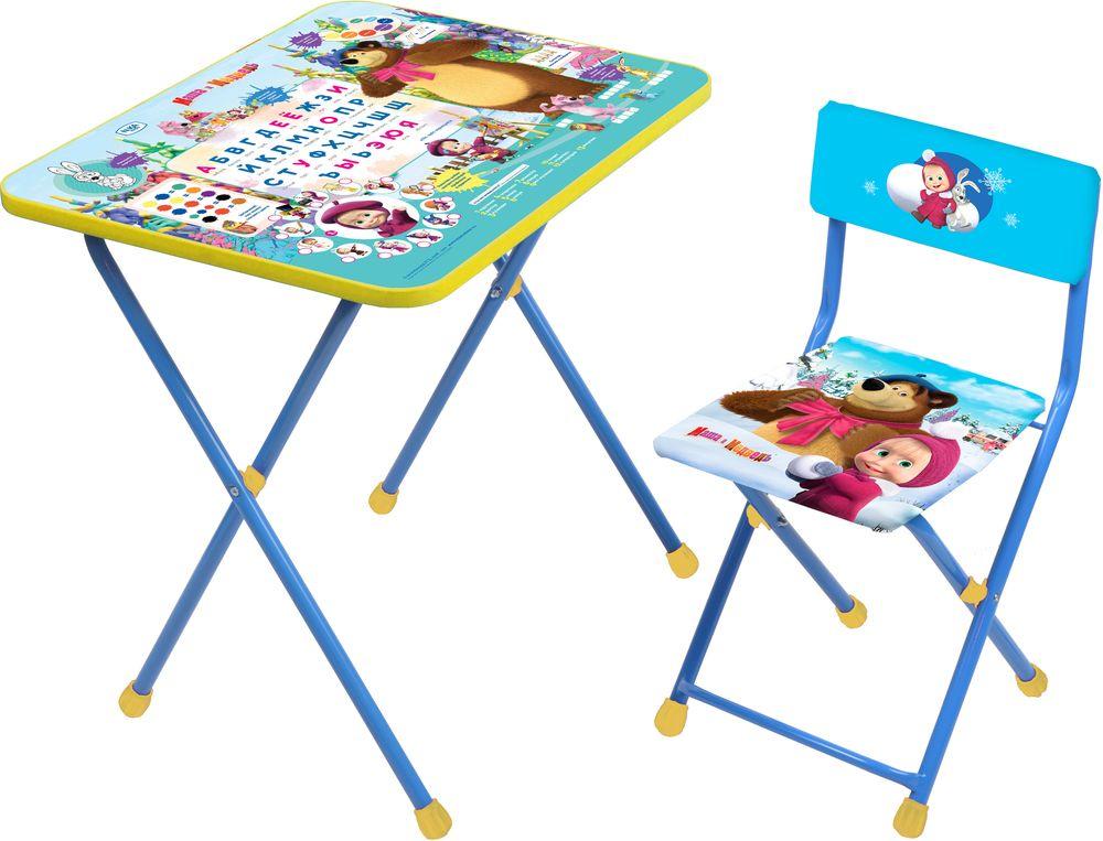 Набор детской мебели Ника Азбука, КП2/2, голубой наборы детской мебели ника познайка кп2 хочу все знать