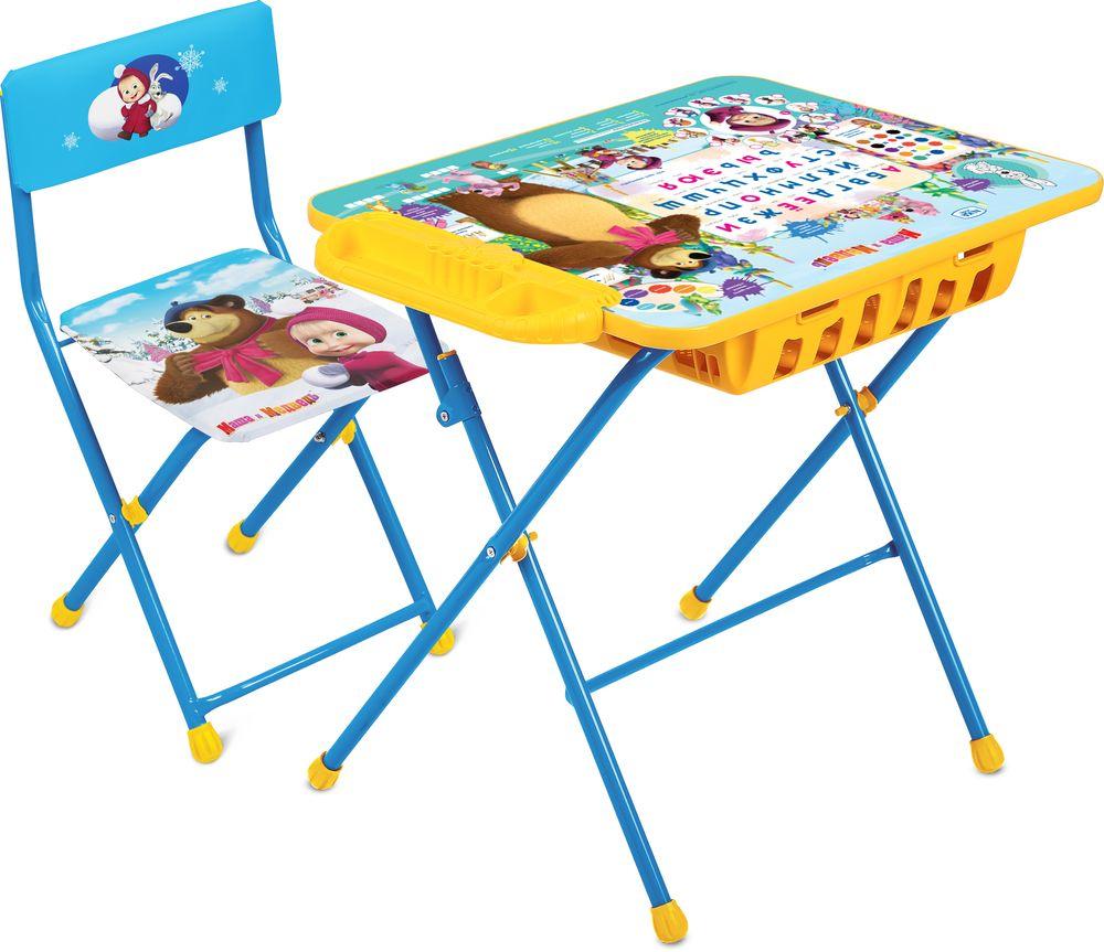 Набор детской мебели Ника Азбука, КУ2П/2, голубой