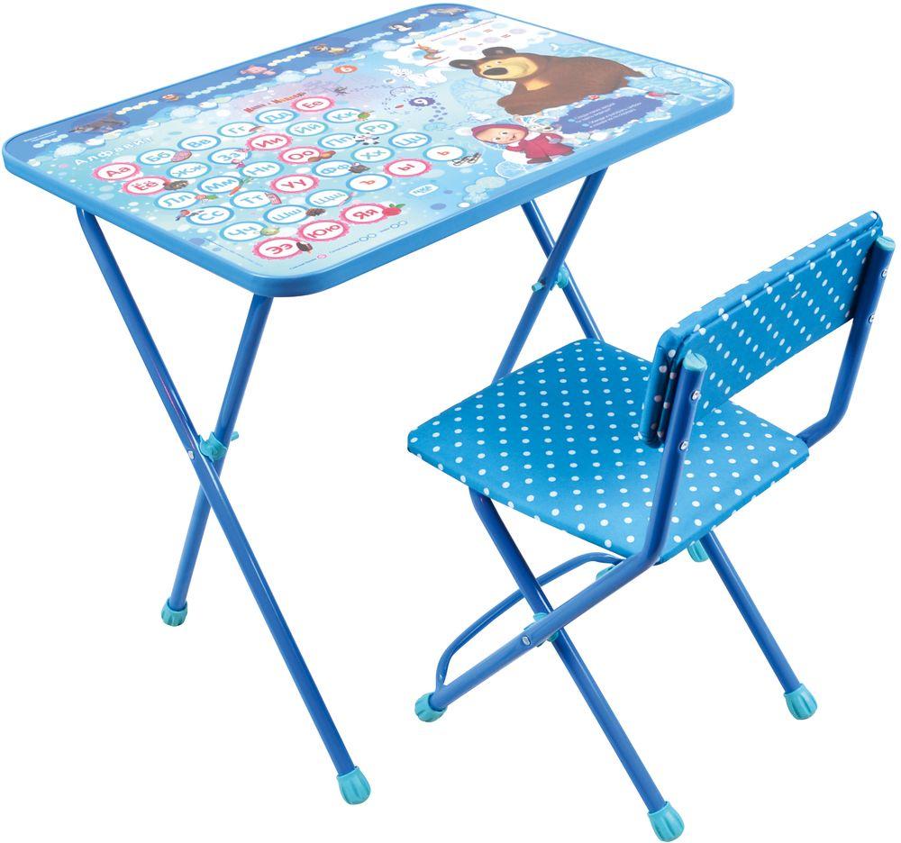 Набор детской мебели Ника Азбука, голубой