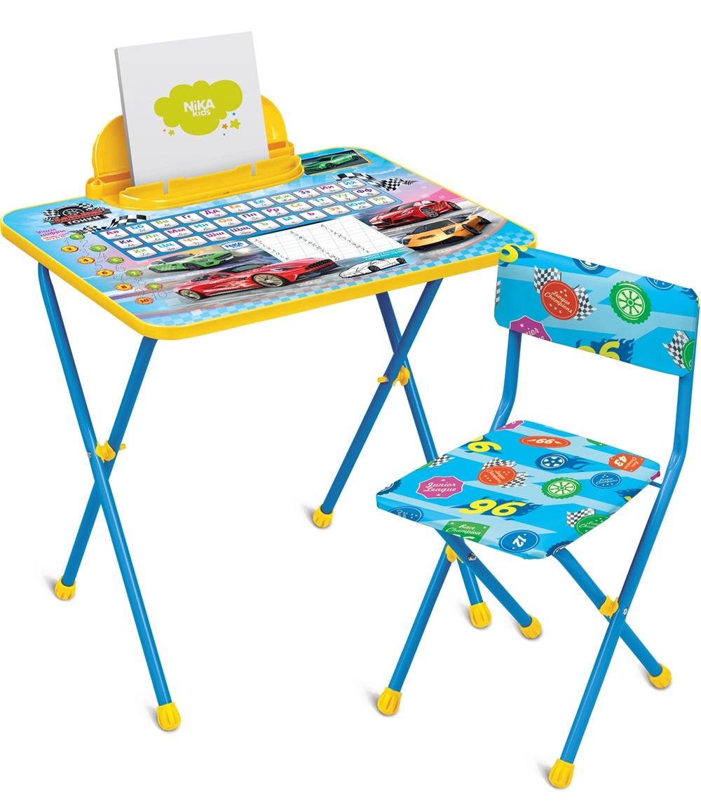 Набор детской мебели Ника Большие гонки, КП2/15, синий наборы детской мебели ника познайка кп2 хочу все знать