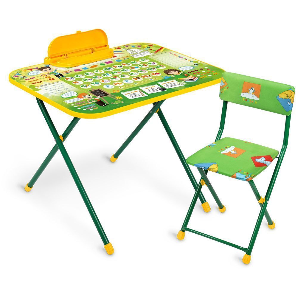 Набор детской мебели Ника Азбука, NK-75/2, зеленый