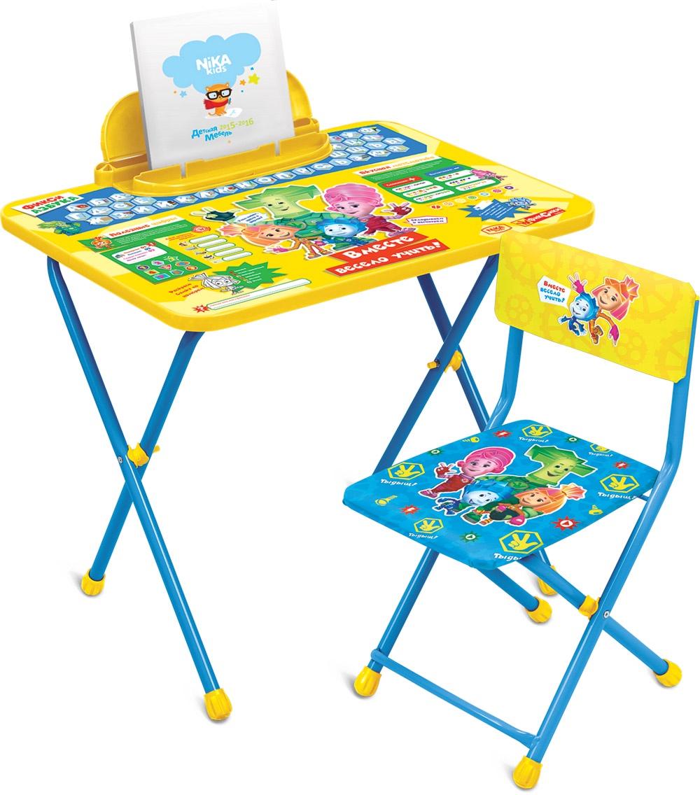 Набор детской мебели Ника Фиксики, Ф1А, желтый