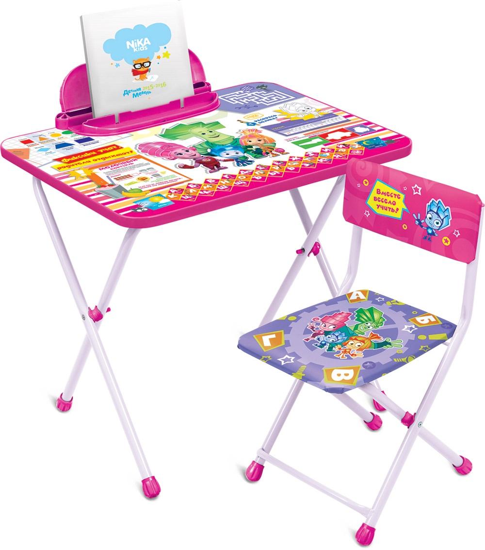 Набор детской мебели Ника Фиксики, Ф1З, розовый