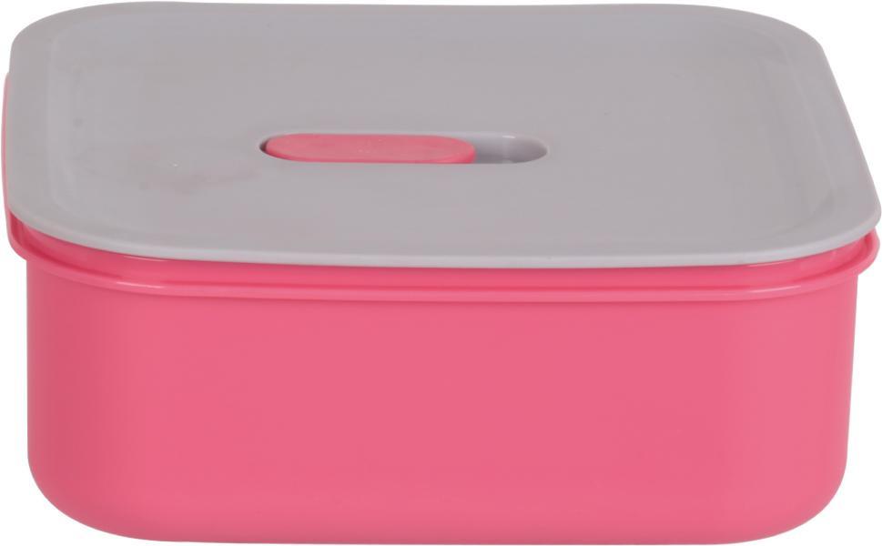 Контейнер пищевой Bekker, BK-5141, розовый, 550 мл контейнеры из полимеров bekker контейнер bk 5124 3 2л пищевой
