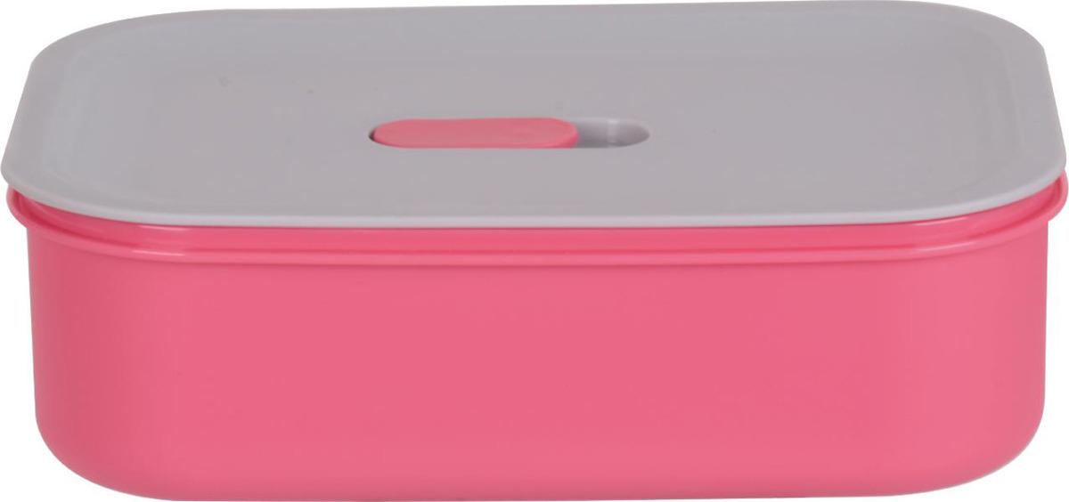 Контейнер пищевой Bekker, BK-5143, розовый, 600 мл контейнеры из полимеров bekker контейнер bk 5124 3 2л пищевой