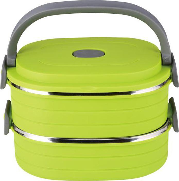 Контейнер пищевой Bekker, BK-4362, светло-зеленый, 900 мл, 2 штBK-4362Характеристики: Крышка с силиконовым уплотнителем и вакуумным клапаном. Водонепроницаемые боковые фиксаторы. Сохраняет тепло +40 в течение 4 часов. Рекомендована ручная чистка.