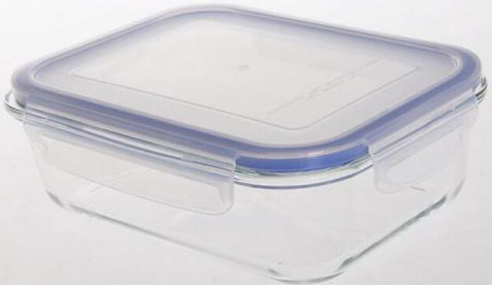 Контейнер пищевой Bekker, BK-8804, прозрачный, 640 мл контейнеры из полимеров bekker контейнер bk 5124 3 2л пищевой