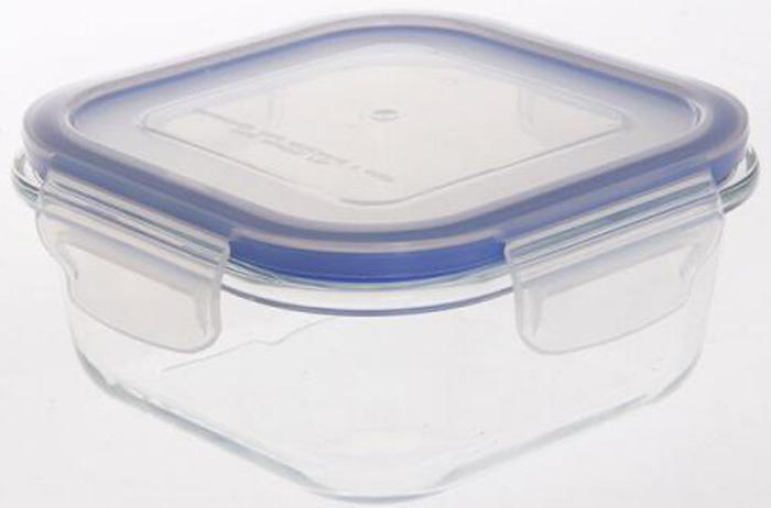 Контейнер пищевой Bekker, BK-8809, прозрачный, 800 мл контейнер пищевой elff decor цвет зеленый 800 мл