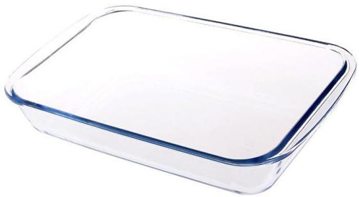 Форма для выпечки Bekker, BK-8822, прозрачный, 26 х 15,5 х 4,8 см