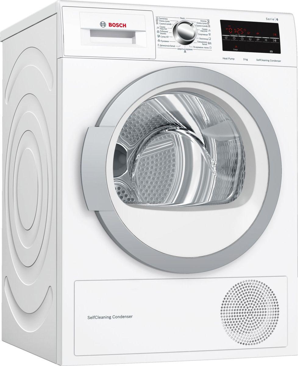 Сушильная машина Bosch Serie 6, WTW85469OE, белый Bosch