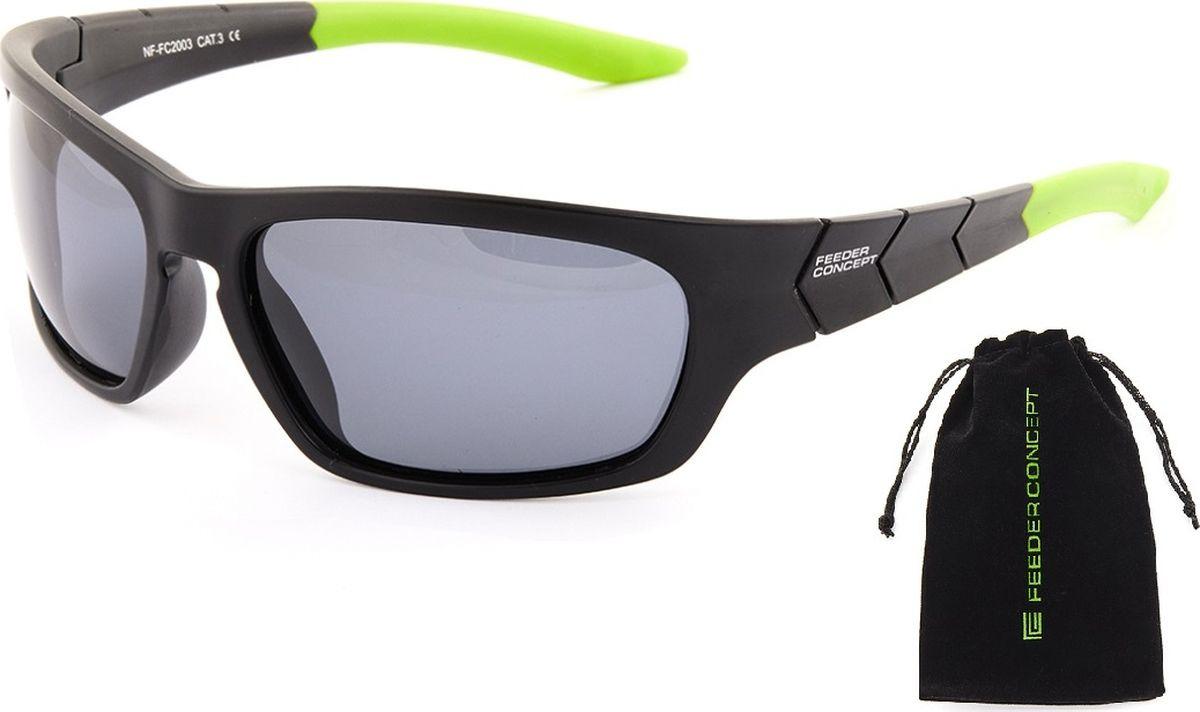 Очки солнцезащитные Norfin, для рыбалки, NF-FC2003, серый очки quechua солнцезащитные очки mh550 для взрослых с поляризационными линзами категории 4