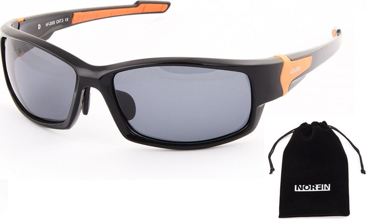 Очки солнцезащитные Norfin, для рыбалки, NF-2005, серыйNF-2005Солнцезащитные очки для рыбалки с поляризационными линзами серого цвета. Рекомендуются к использованию в солнечную погоду. Мягкий чехол в комплекте.