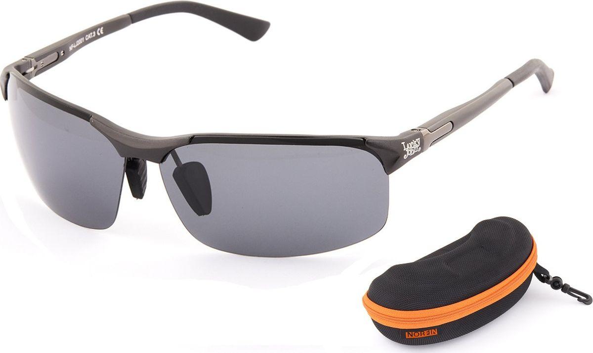 Очки солнцезащитные Norfin, для рыбалки, NF-LJ2001, серый магазины для рыбалки в южно сахалинске