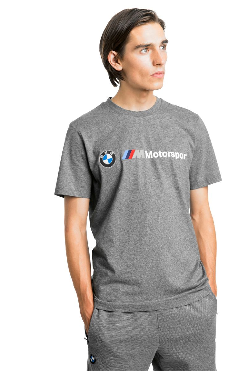 Футболка PUMA BMW MMS Logo Tee футболка женская puma archive logo tee цвет бирюзовый 57290523 размер l 46 48