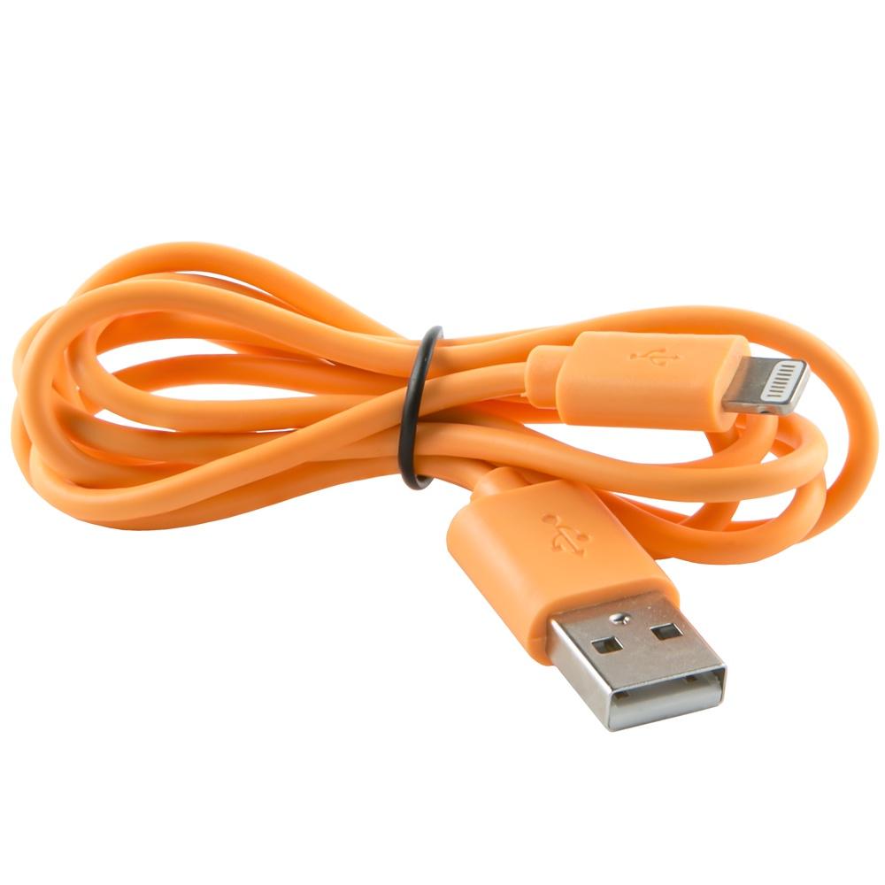 Кабель red line USB - 8 - pin, УТ000010043, оранжевый дата кабель red line lightning usb 8 pin синий
